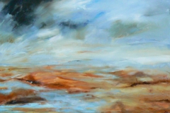 Heath, 100 x 100cm , acrylic on canvas