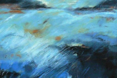 Weather 5, 100 x 100cm, acrylic on canvas, (sold)