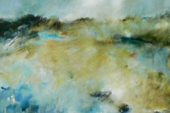 Where No Storm Comes, 110 x 110cm ,acrylic on canvas (sold)